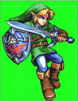 Link Sprite Recolored by cae79119