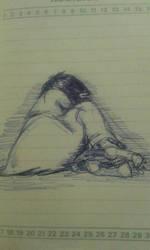 Who has slept in my sketchbook?