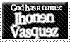 Jhonen Vasquez stamp by 1Scythe-prayer