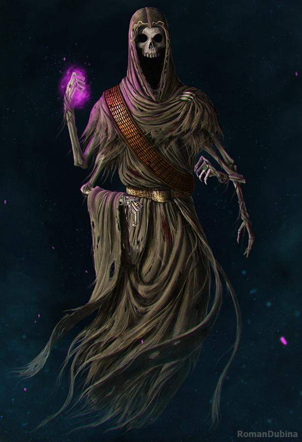 Image result for elder scrolls bonelord art