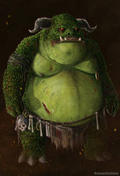Ogrim (The Elder Scrolls) by RomanDubina