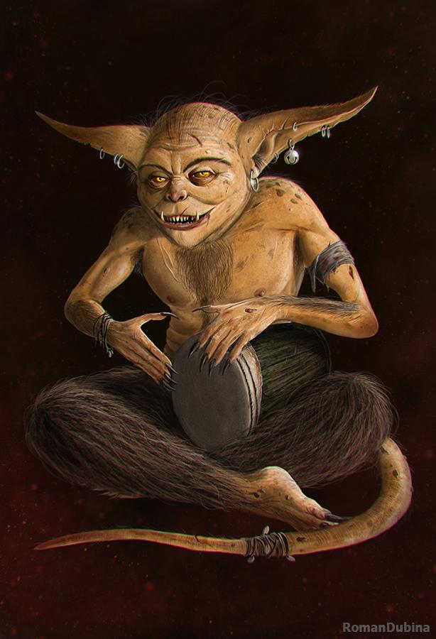 Image result for elder scrolls scamp art