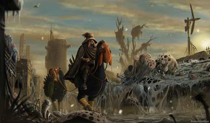 Lord Yupa (Nausicaa of the Valley of the Wind) by RomanDubina