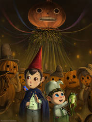 Over the Garden Wall - Pumpkin People