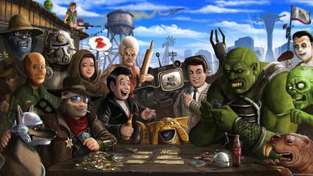 Fallout New Vegas - Caravan by RomanDubina