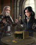 The Witcher - Sweet Memories by RomanDubina