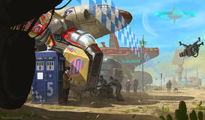 Doctor Who - Space Racing