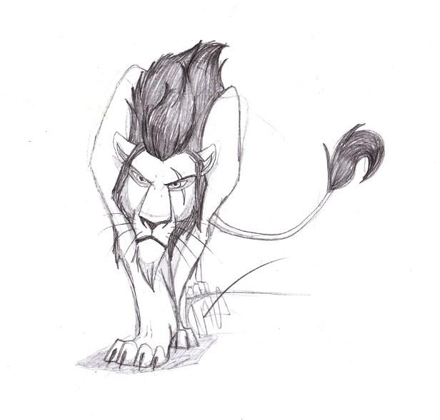 Lion King Scar Sketch ...