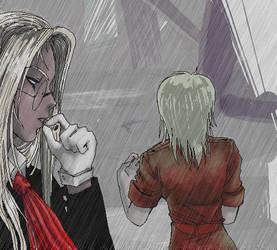 Confusion in the Rain