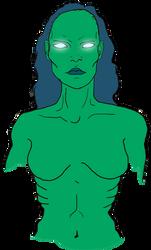 Alien Zombie Girl