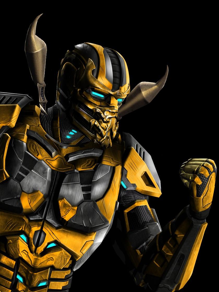 Cyber Scorpion by Scorpion44 on DeviantArt