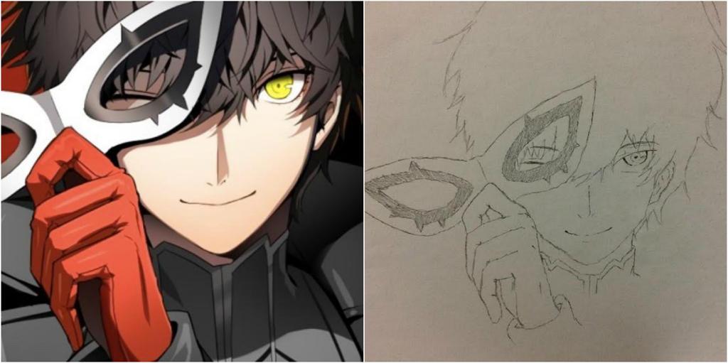Persona5 Fanart by Scarletcat1