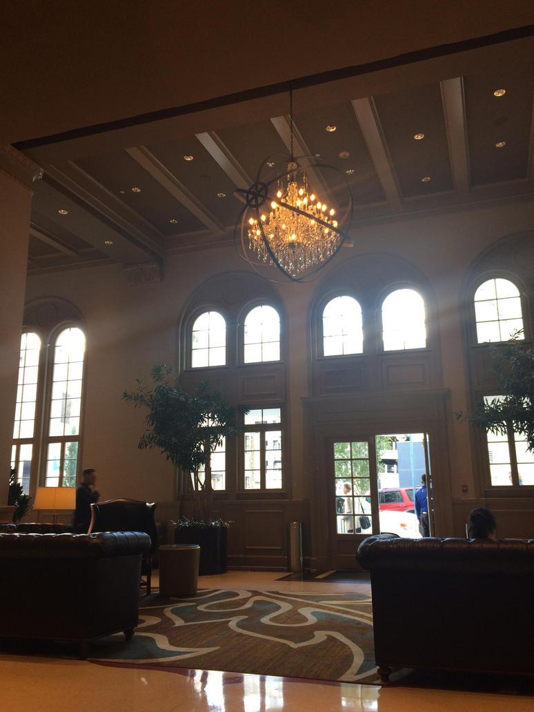 The hotel lobby by Scarletcat1