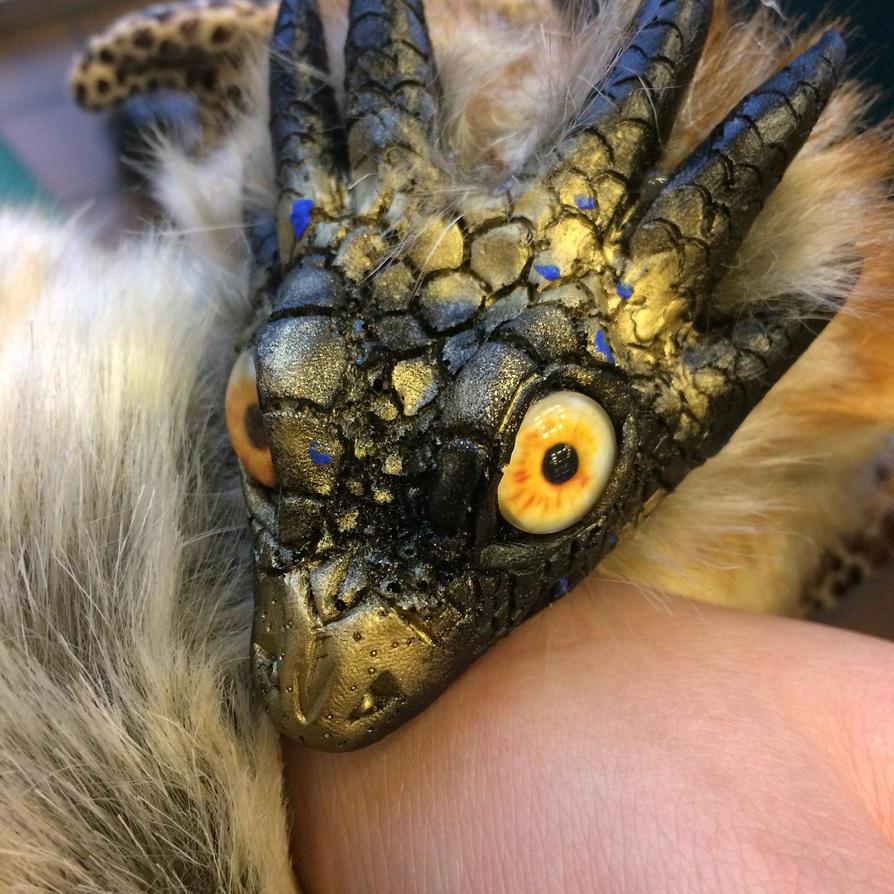 A beautiful fuzzy boi by Scarletcat1