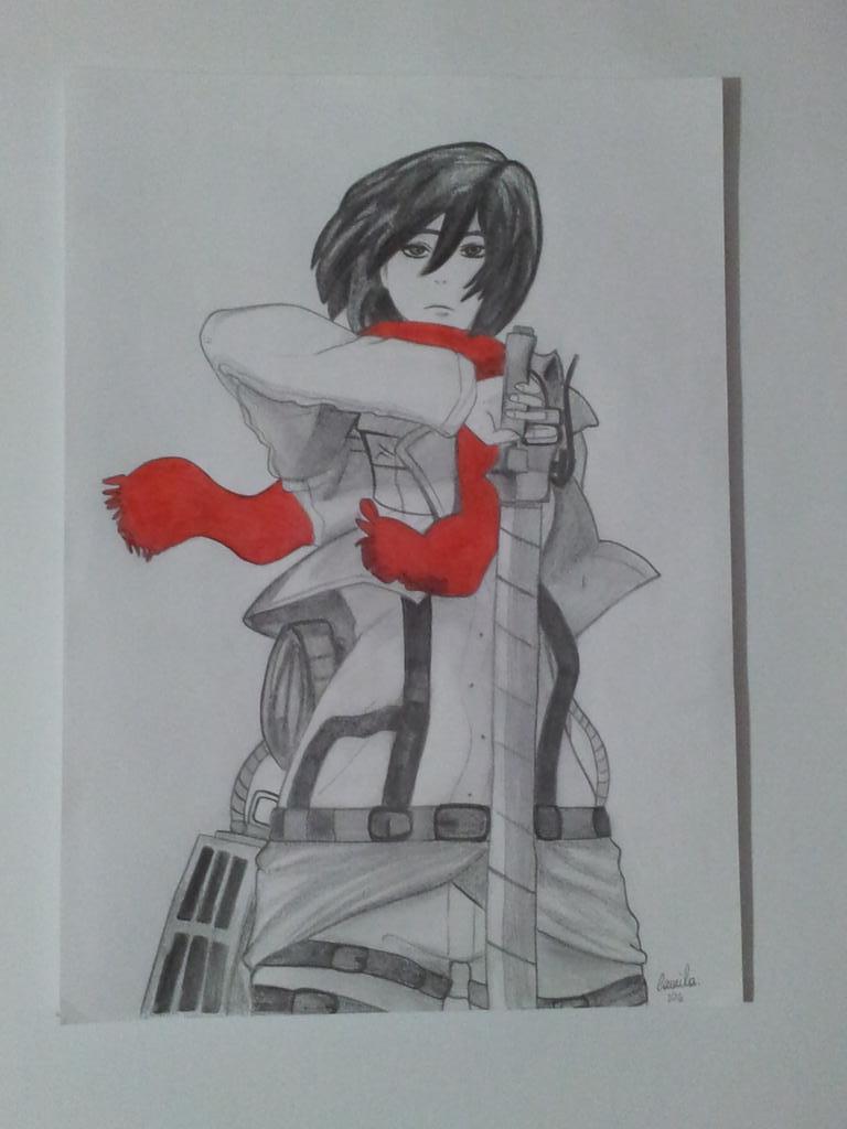 Mikasa Ackerman by RadioactiveCami