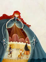 le cirque... - toiabates by childrensillustrator