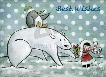 Polar Gift - zochiketzali by childrensillustrator