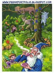 Secret Gar- FrankIllustrations by childrensillustrator