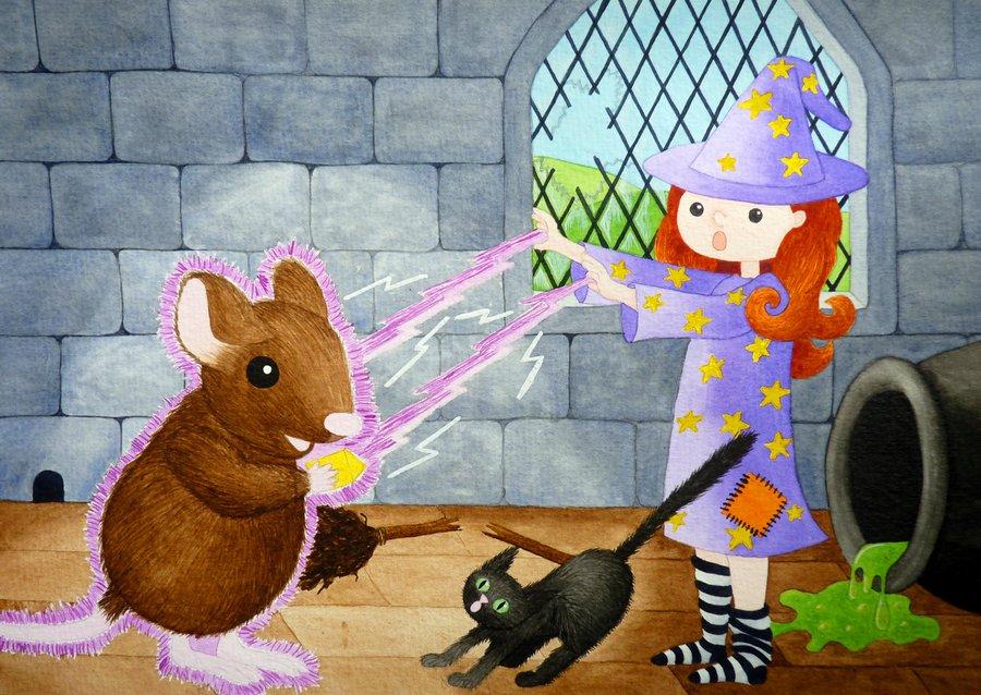 Enchanted- LauraThompsonArt by childrensillustrator