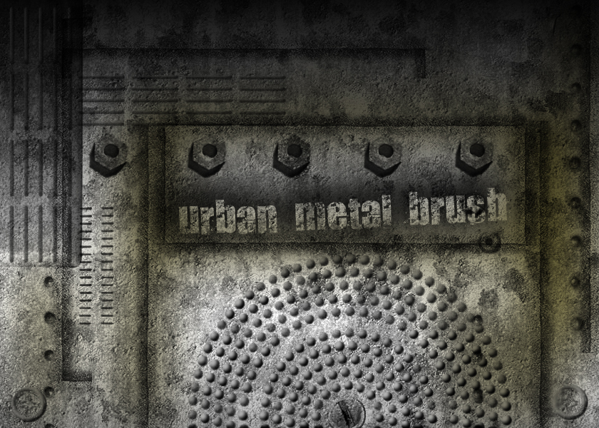 urban metal brushes by ared09
