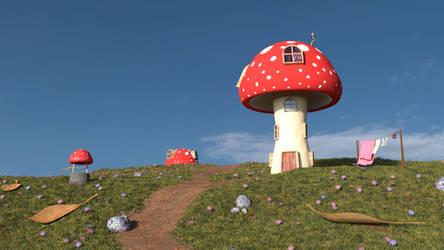 Fungi Funhouse by ChristopherReality