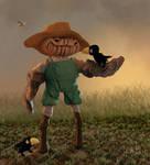 Mr Pumpkin head by ChristopherReality