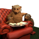 Armchair Hedgehogs by ChristopherReality