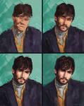 Portrait Study 17 - Nicolas Simoes Steps