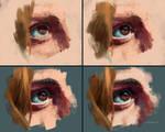 Eye Study 04 - Steps