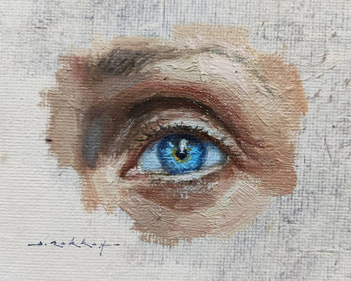 Eye Study 02 - Oil