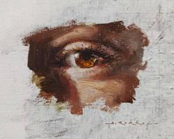 Eye Study 01 - Oil