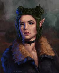 DnD Character -  Commission Portrait