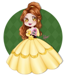 [CHIBI] Belle by mihmosa