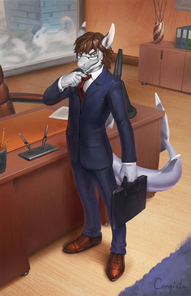 The glasses shark by Conqista