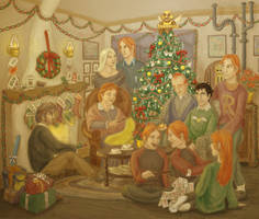 A Very Weasley Christmas - HBP by cambium