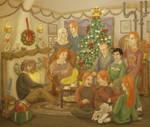 A Very Weasley Christmas - HBP