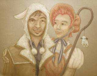Lupin+Tonks First Halloween by cambium