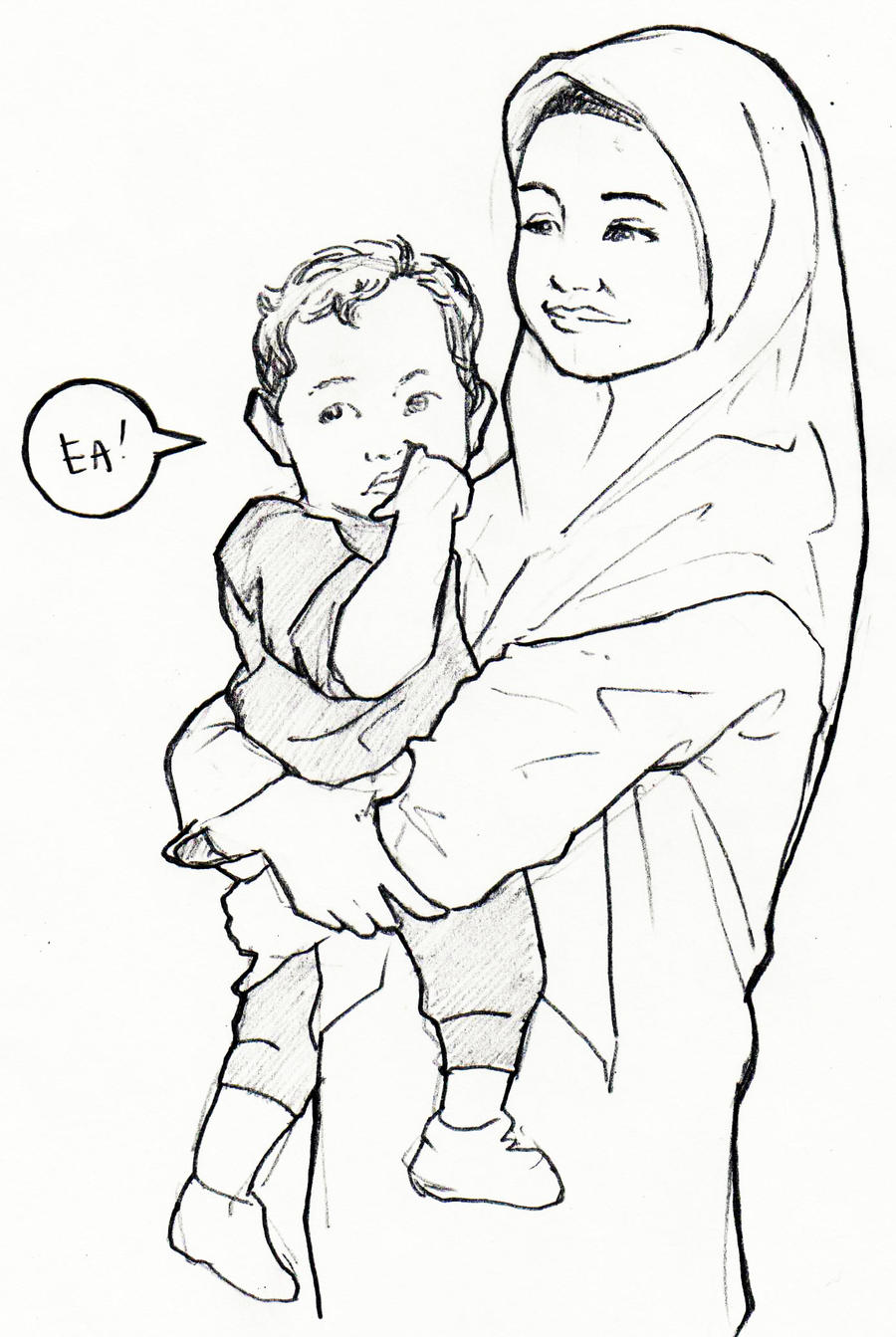 mother and child by agentea on deviantart