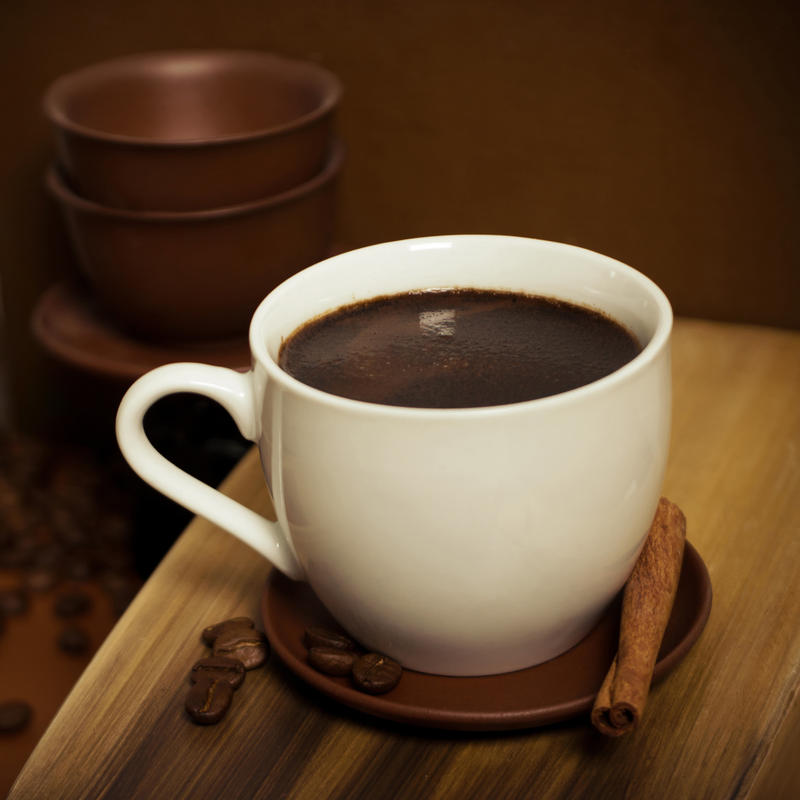 coffee with cinnamon by davenevodka