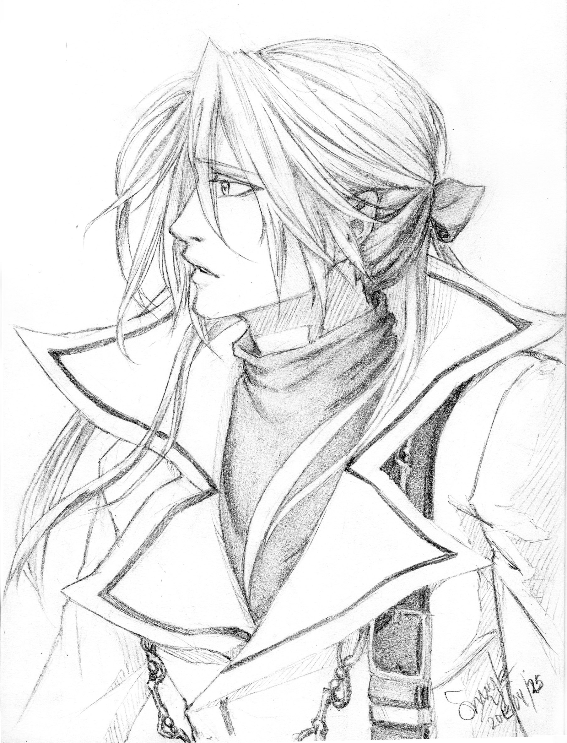 Abel Nightroad - Sketch by Sumikku-chan
