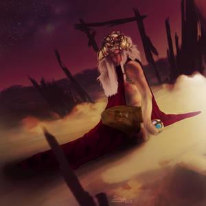 Waiting for nightfall by Sumikku-chan