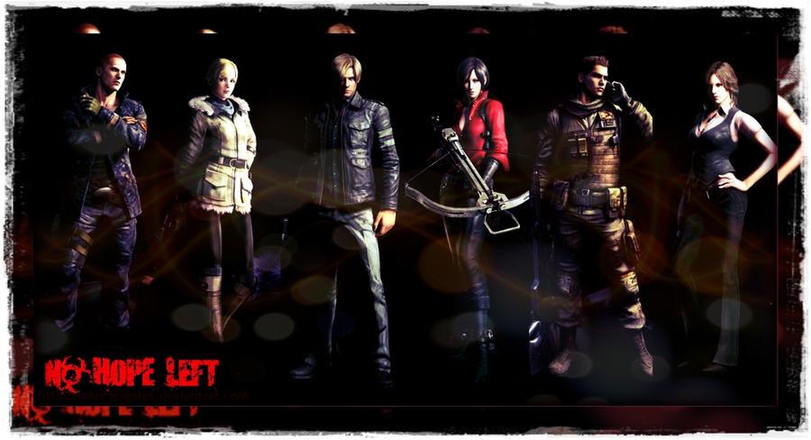 Resident Evil 6 Characters By Sakurariguret On Deviantart
