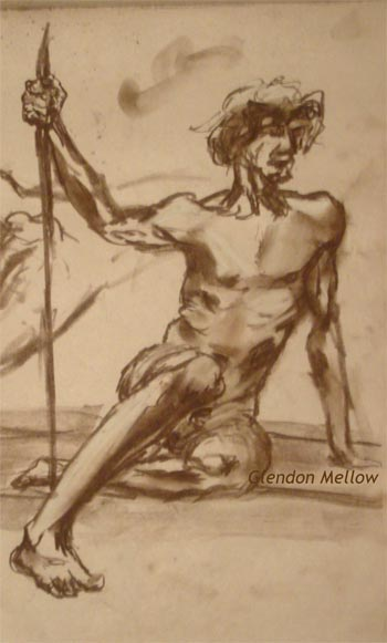 Life Drawing - Male 1