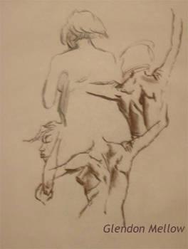 Life Drawing - Female 1