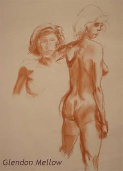 Life Drawing - Female 2