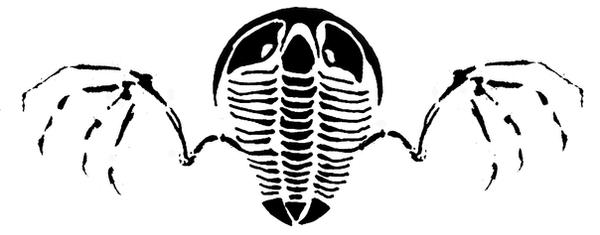 Flying Trilobite Tattoo Design by GlendonMellow