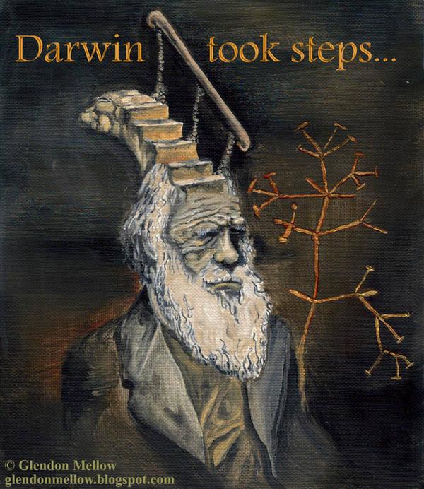 Darwin Took Steps -textversion by GlendonMellow