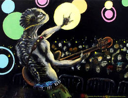 Trilobite Boy Rocks Out by GlendonMellow