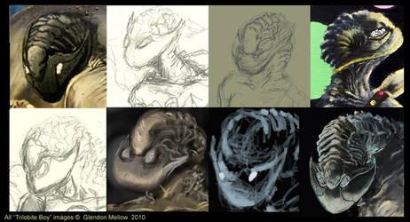 Many Faces of Trilobite Boy