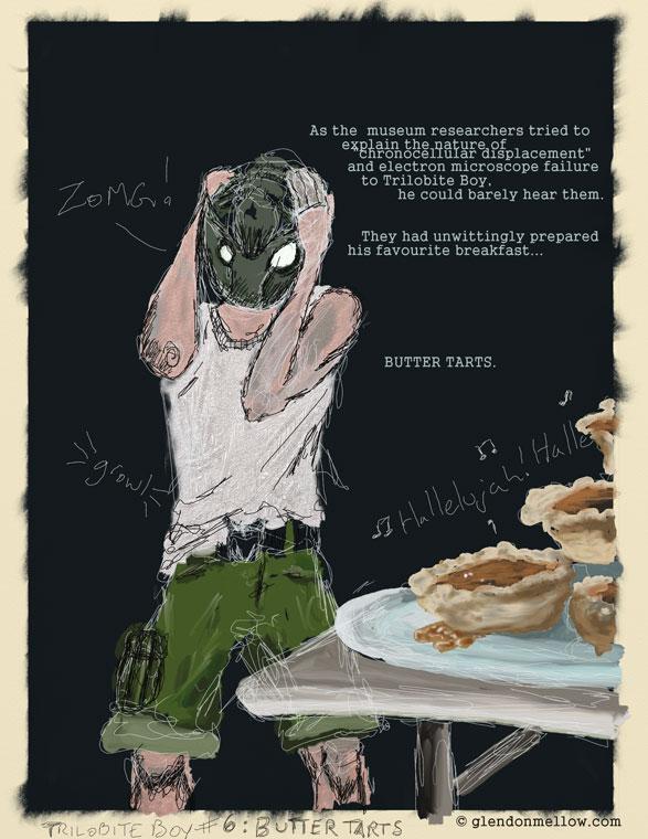Trilobite Boy no.6 - Breakfast by GlendonMellow